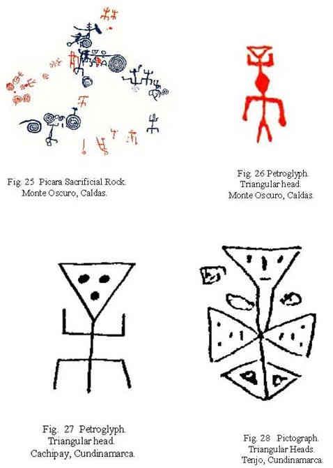 Colombian Rock Art Motifs Some Ideas For Interpretation